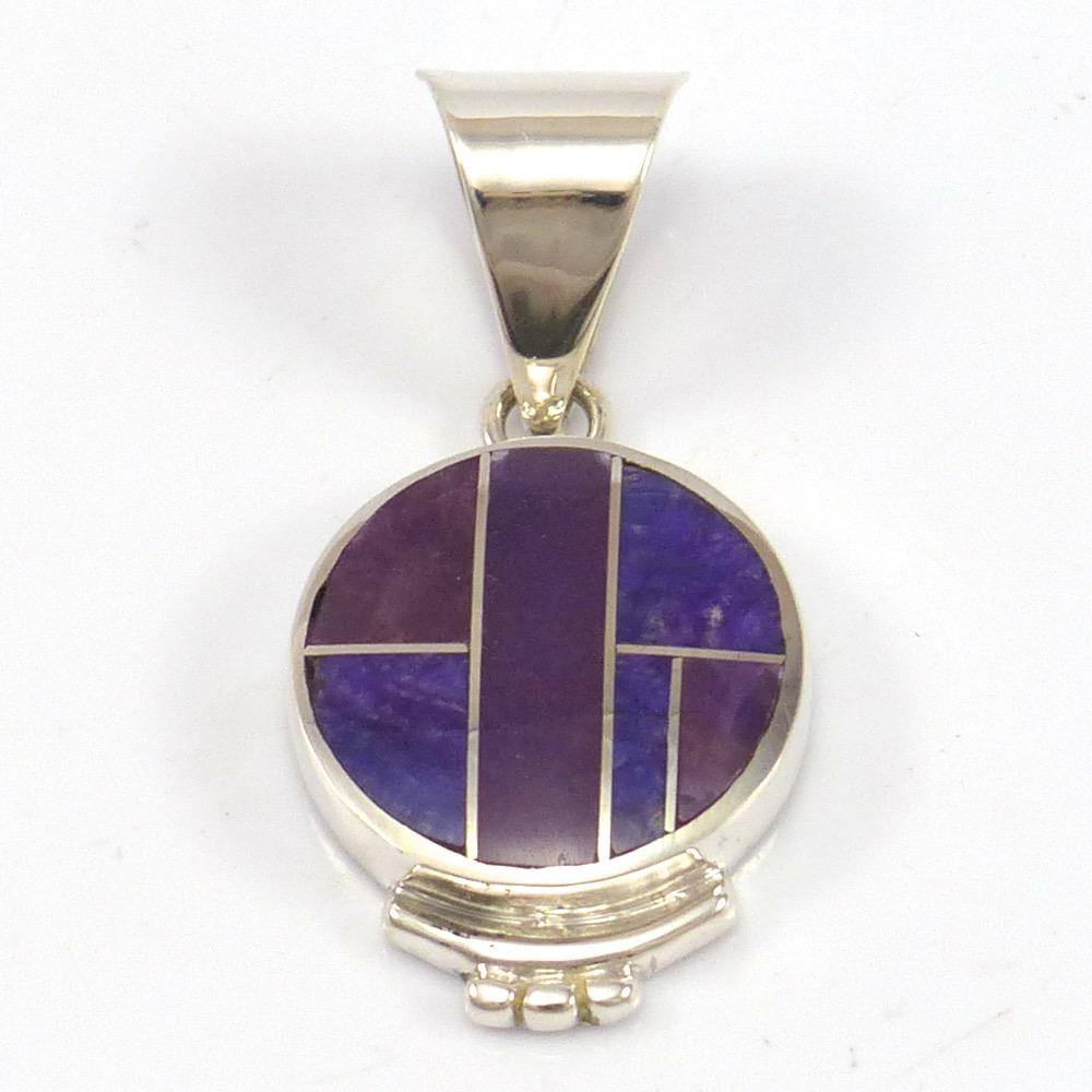 stones pendant throwin from cabochon afri products africa bright south sugilite kalahari purple