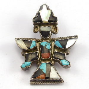 1970s Knifewing Pin, Vintage Collection, Jewelry, Garland's Indian Jewelry