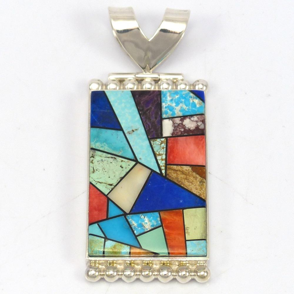 project stained abbound glass rami pendant jewelry abboud