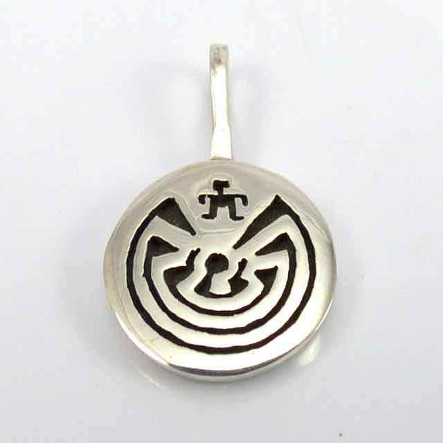 """Man in the Maze"" Pendant"