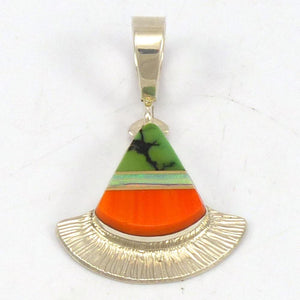 Inlay Fan Pendant