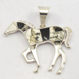 Horse Inlay Pendant