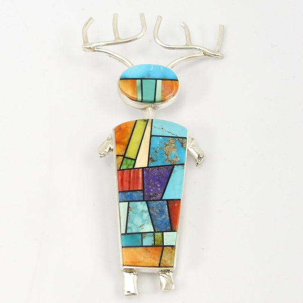 Deer Dancer Pin and Pendant