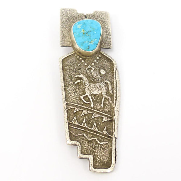 """Horse Spirit"" Pin and Pendant"