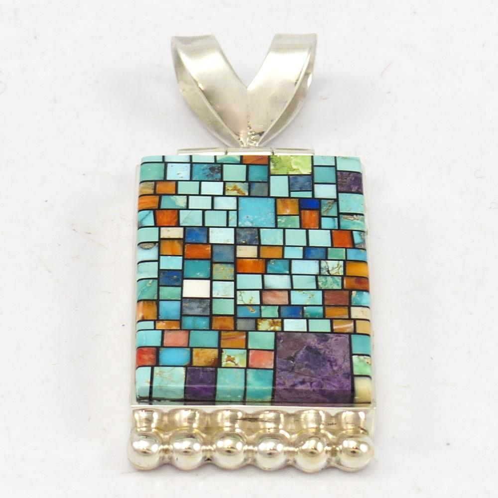 Stained glass pendant garlands indian jewelry stained glass pendant aloadofball Image collections
