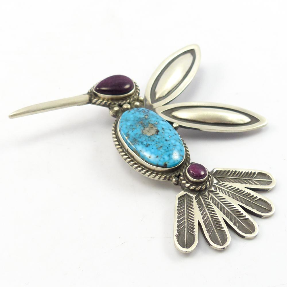 Hummingbird Pin and Pendant