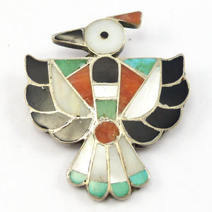 1960s Thunderbird Pin