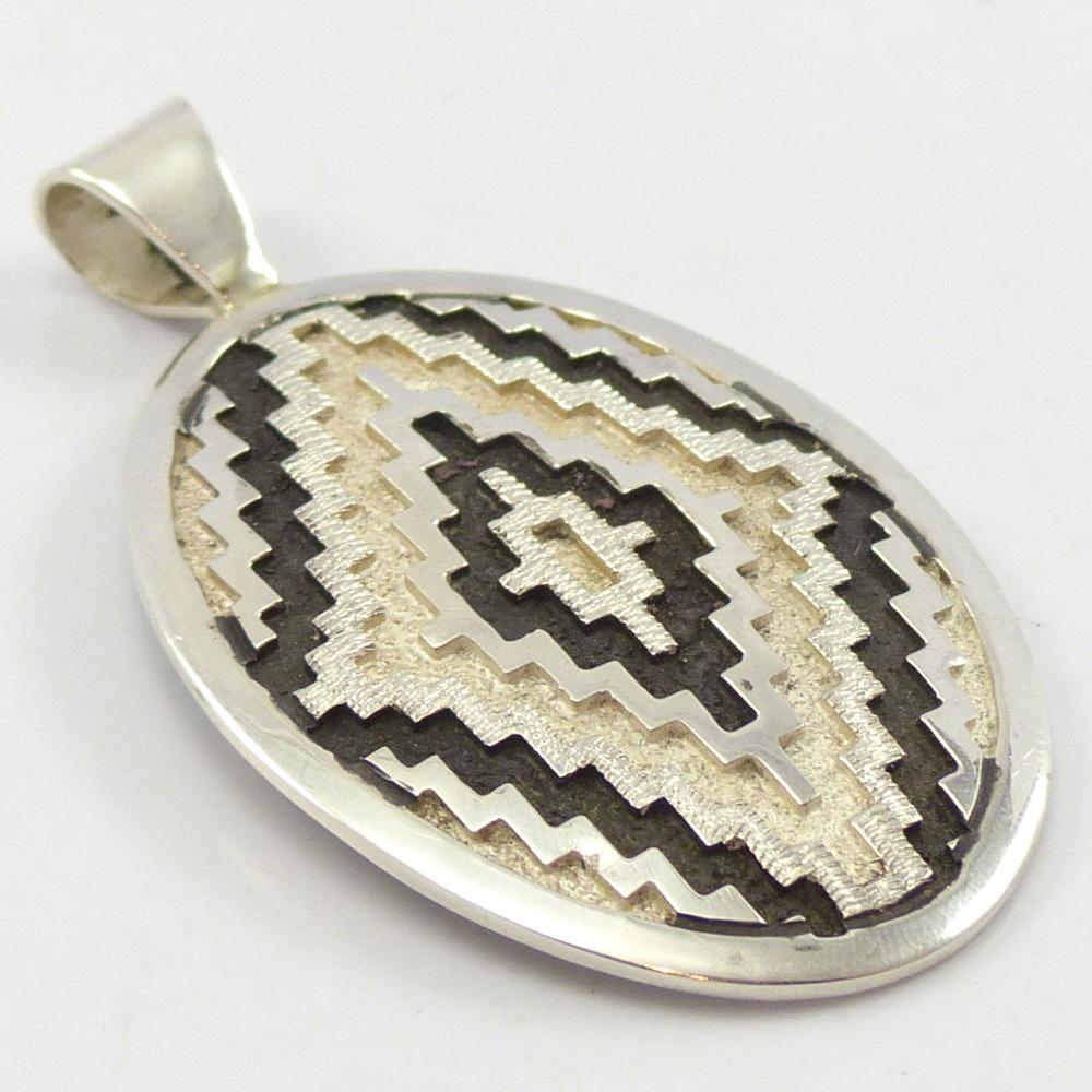 Silver Overlay Pendant