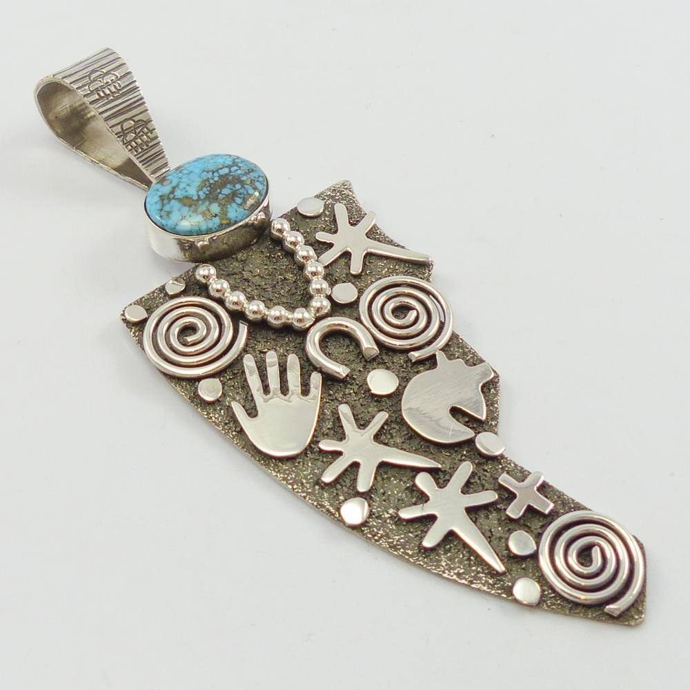 Petroglyph Grandmother Pendant