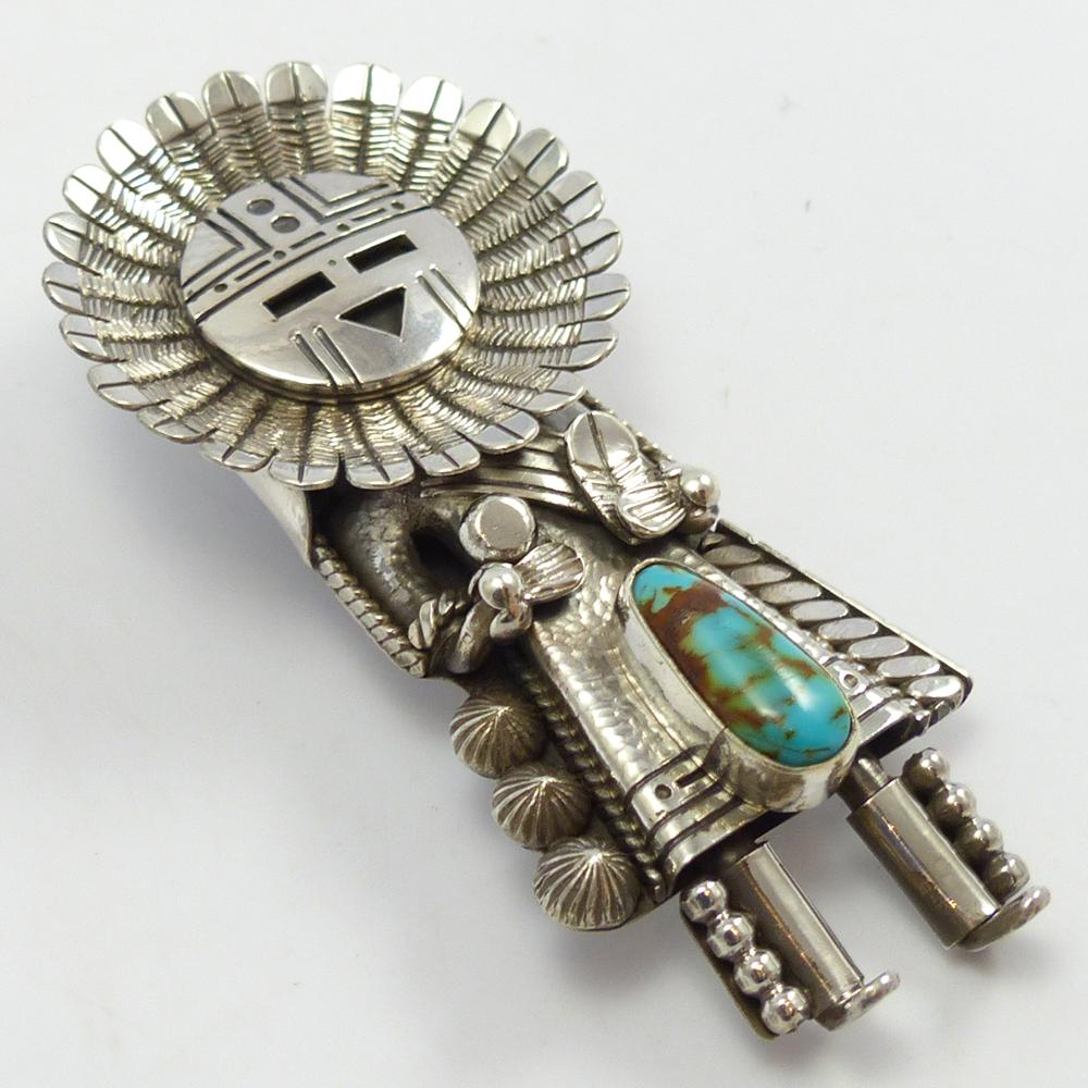 Sunface Kachina Pin and Pendant