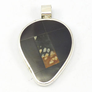 Reversible Inlay Pendant