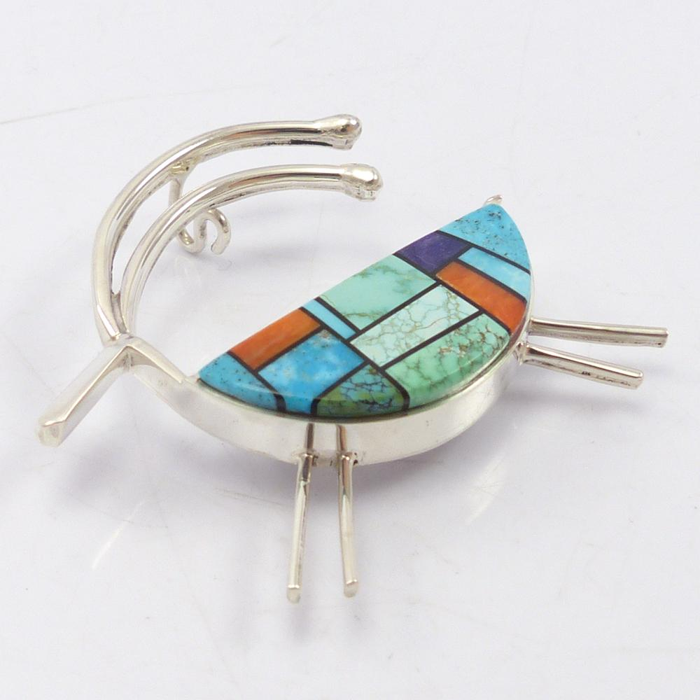Antelope Pin and Pendant