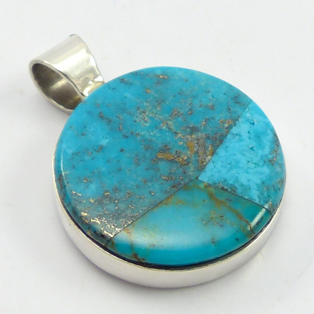 Red Mountain Turquoise Pendant