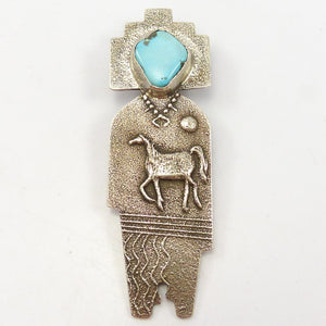 Horse Spirit Pin and Pendant