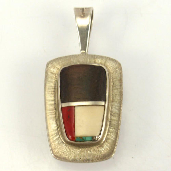 Reversible Pendant, Lyndon Tsosie, Jewelry, Garland's Indian Jewelry