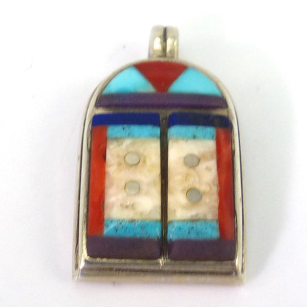 Tibetan Doors Pendant, Phil Loretto, Jewelry, Garland's Indian Jewelry