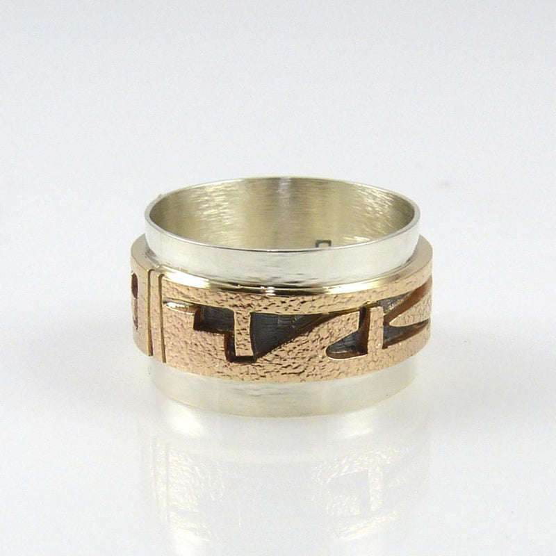 14k Gold and Silver Ring - Jewelry - Phil Poseyesva - 4
