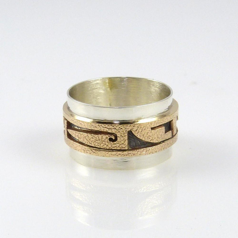 14k Gold and Silver Ring - Jewelry - Phil Poseyesva - 2
