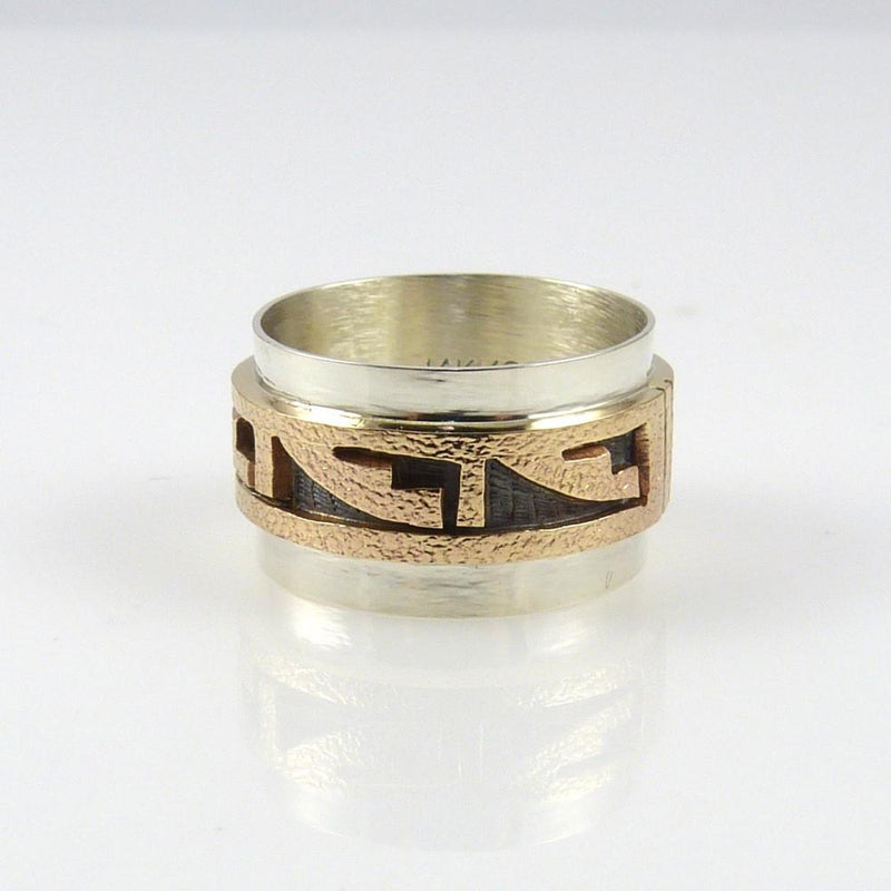 14k Gold and Silver Ring - Jewelry - Phil Poseyesva - 3