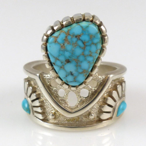 Number Eight Turquoise Ring - Jewelry - Michael Perry - 1
