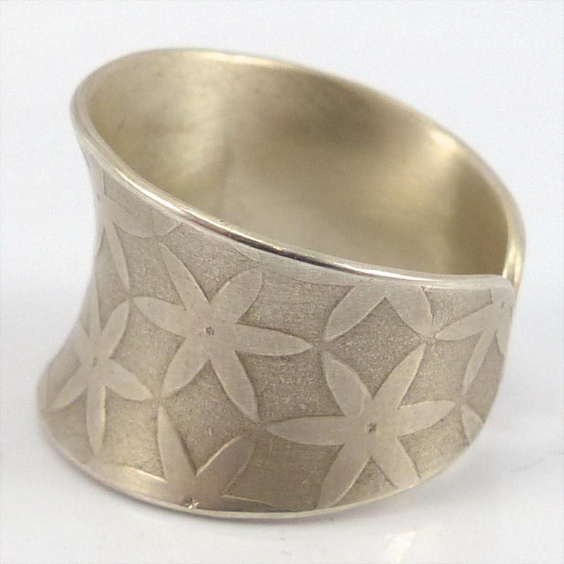 Adjustable Silver Ring, Maria Samora, Jewelry, Garland's Indian Jewelry