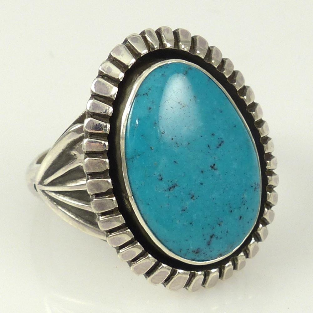 Morenci Turquoise Ring - Jewelry - Toby Henderson - 1