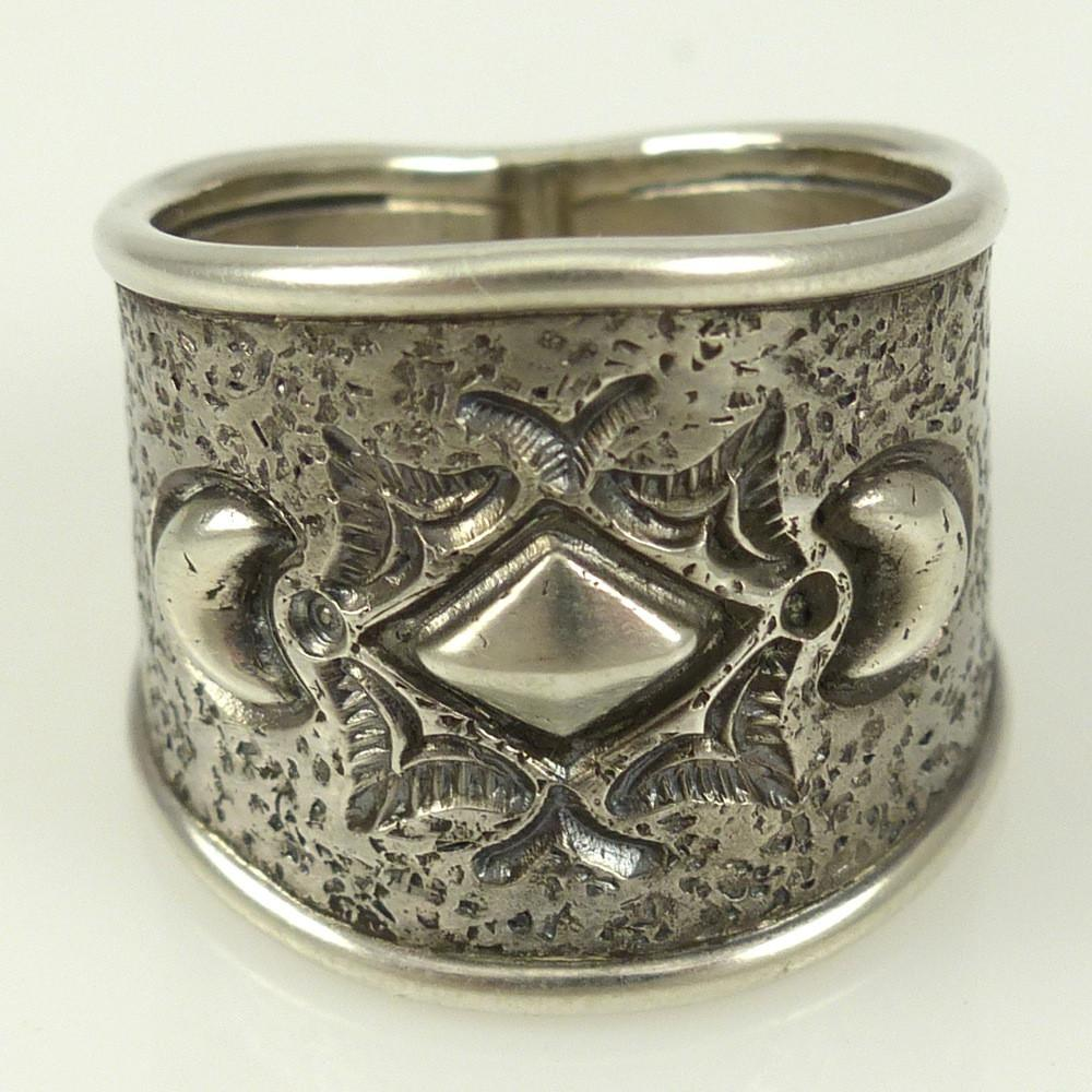 Silver Repousse Ring - Jewelry - Pete Johnson - 1