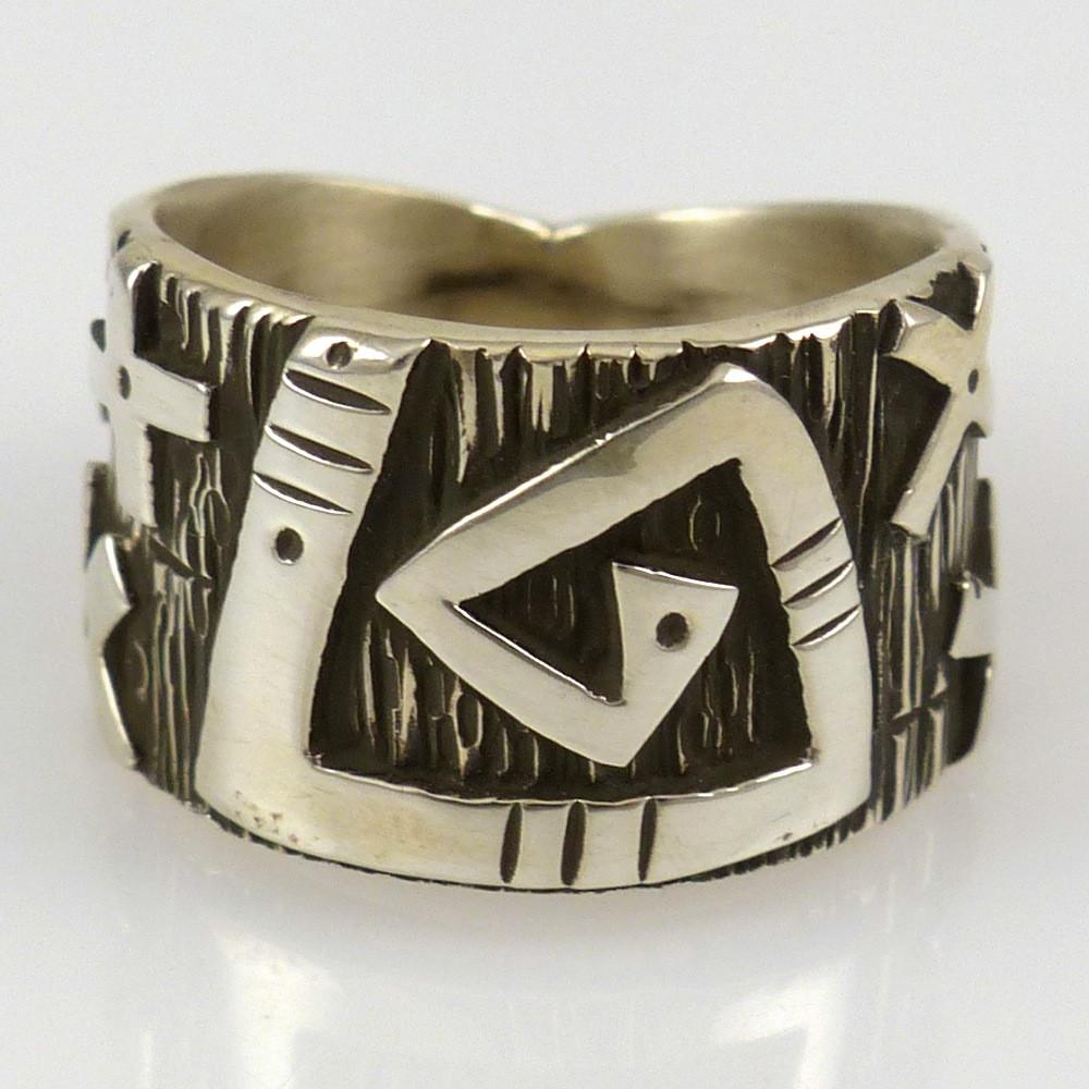 Migration Overlay Ring - Jewelry - Kee Yazzie - 1