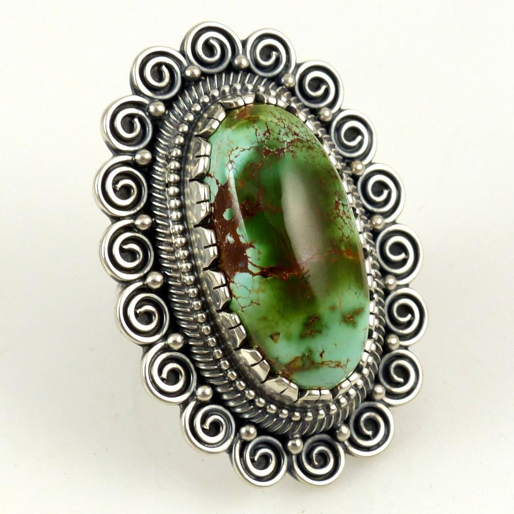 Royston Turquoise Ring - Jewelry - Curtis Pete - 1