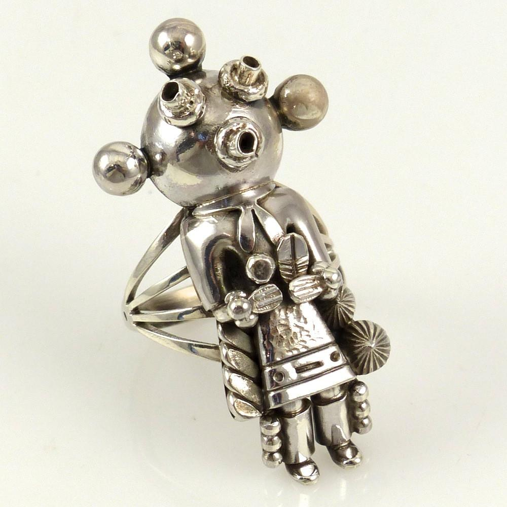 Silver Mudhead Ring - Jewelry - Toby Henderson - 1