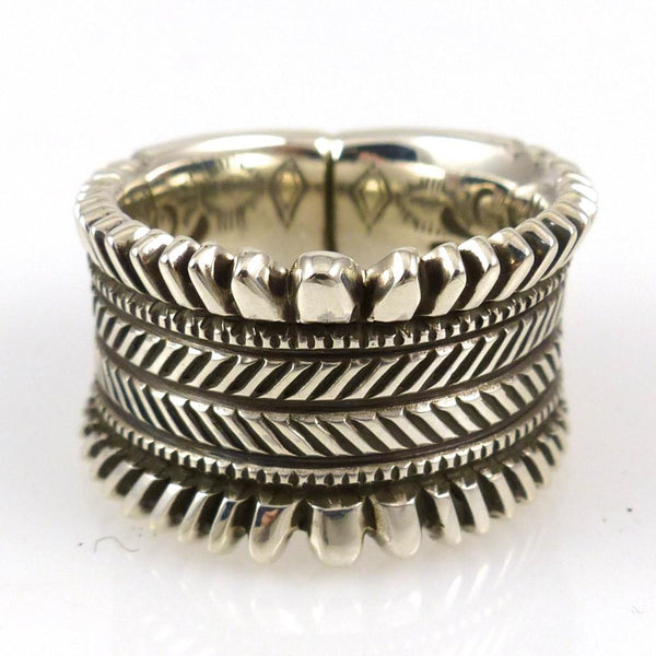 Hand Filed Ring - Jewelry - Ron Bedonie - 1