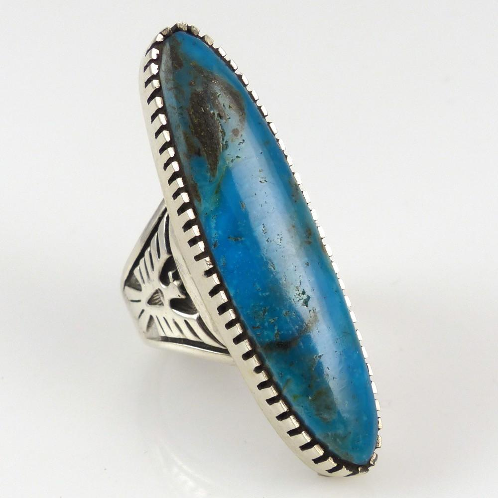 Morenci Turquoise Ring - Jewelry - David and Alice Lister - 1