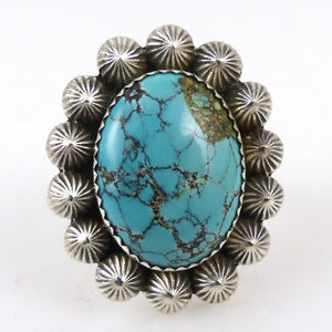 Chinese Turquoise Ring - Jewelry - Toby Henderson - 1