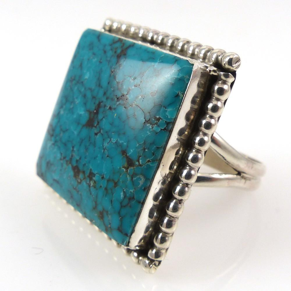Turquoise Ring - Jewelry - Veronica Yellowhorse - 1