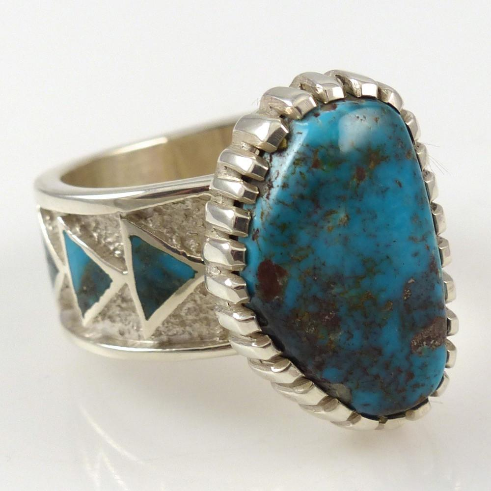 Bisbee Turquoise Ring - Jewelry - Michael Perry - 1