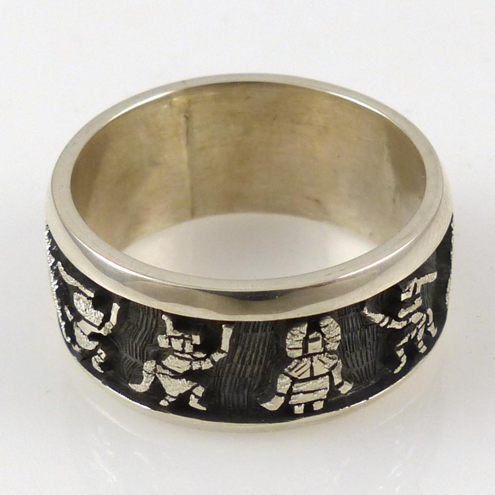 Hopi Kachina Ring - Jewelry - Bennett Kagenveama