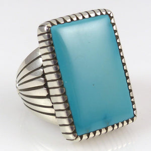 Tonopah Turquoise Ring - Jewelry - Edison Begay - 1