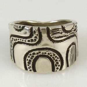 Water Ring - Jewelry - Kee Yazzie - 1