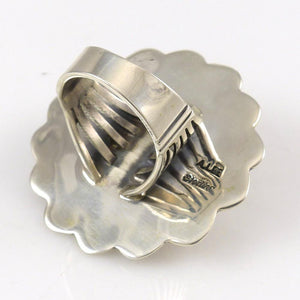 Silver Concha Ring - Jewelry - Allison Lee - 1