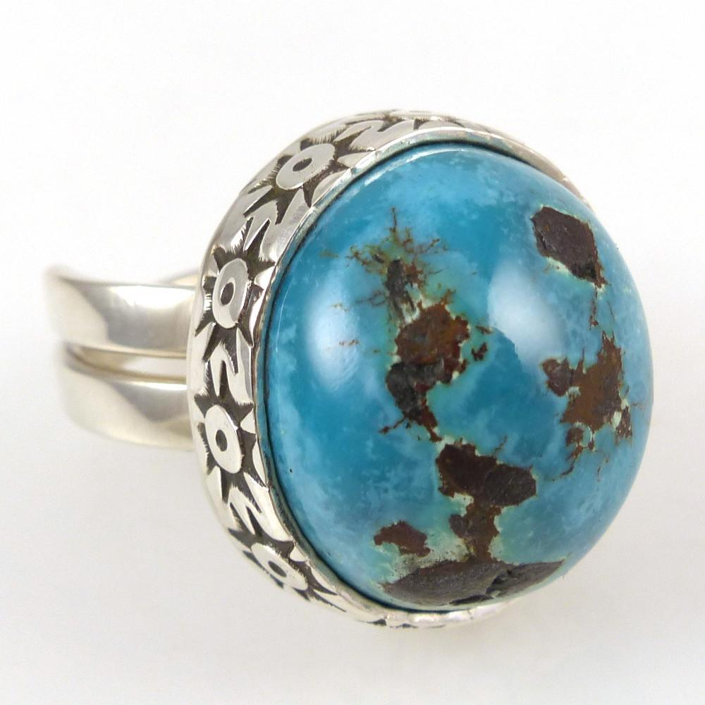 Turquoise Ring - Jewelry - Steven Yellowhorse - 1