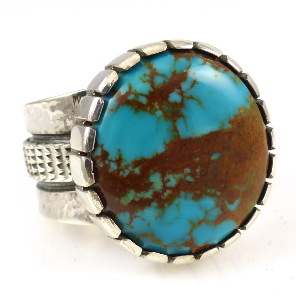 Kingman Turquoise Ring - Jewelry - Toby Henderson - 1