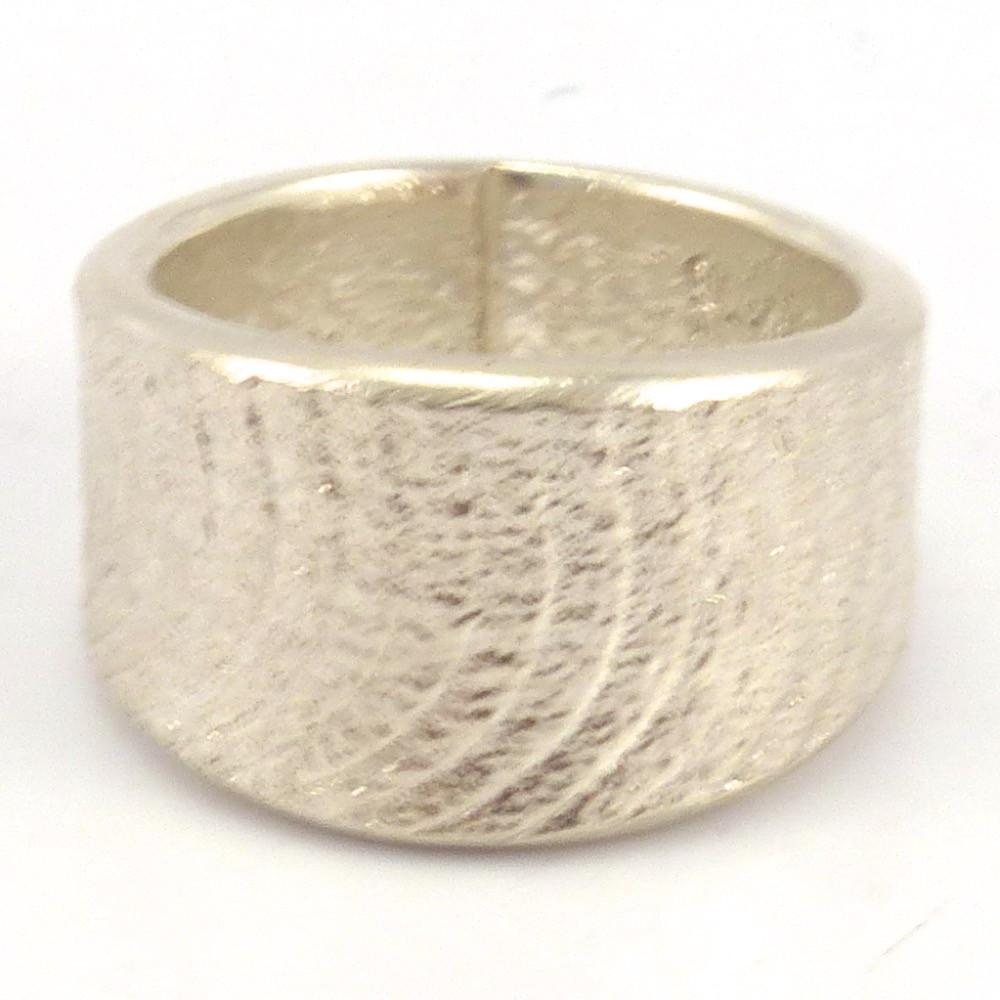 Cast Silver Ring, Darryl Dean Begay, Jewelry, Garland's Indian Jewelry