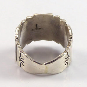 Stamped Silver Ring - Jewelry - Lutricia Yellowhair - 1