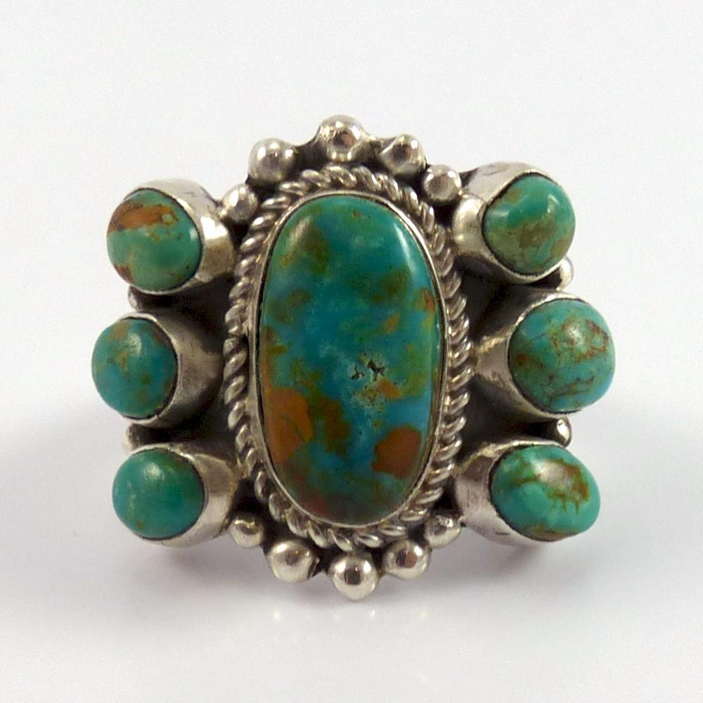Royston Turquoise Ring - Jewelry - Clarissa and Vernon Hale - 1