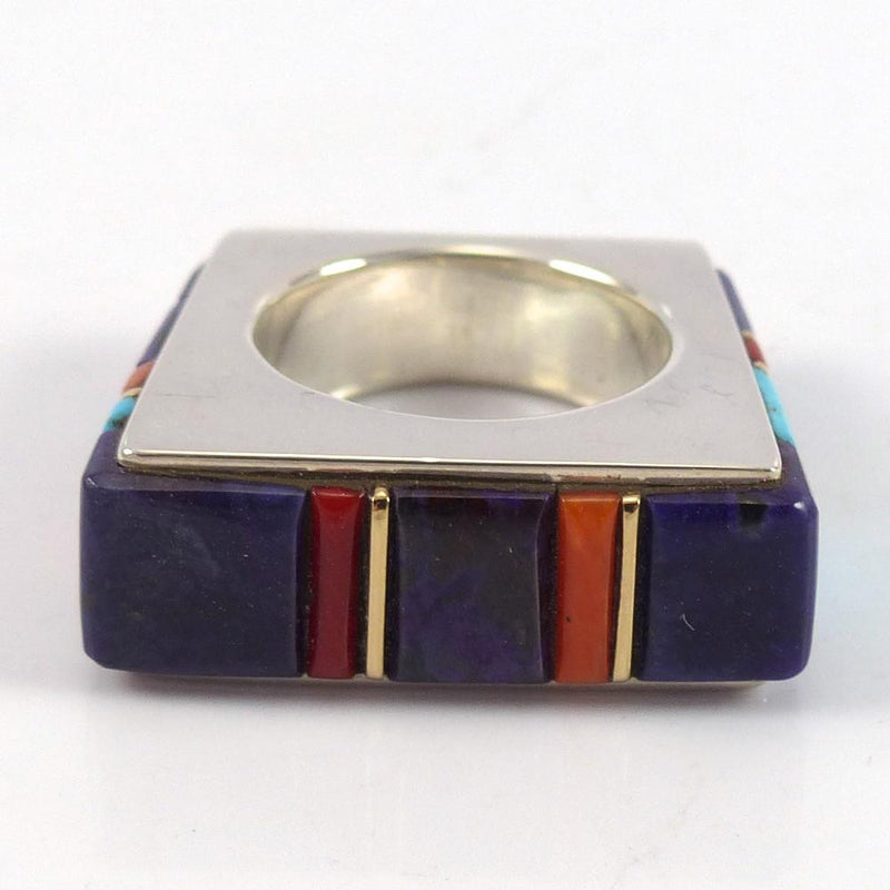 Cobble Inlaid Ring - Jewelry - Wes Willie - 4