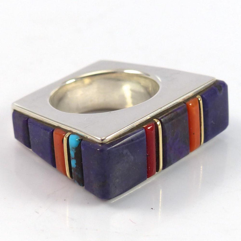 Cobble Inlaid Ring - Jewelry - Wes Willie - 5