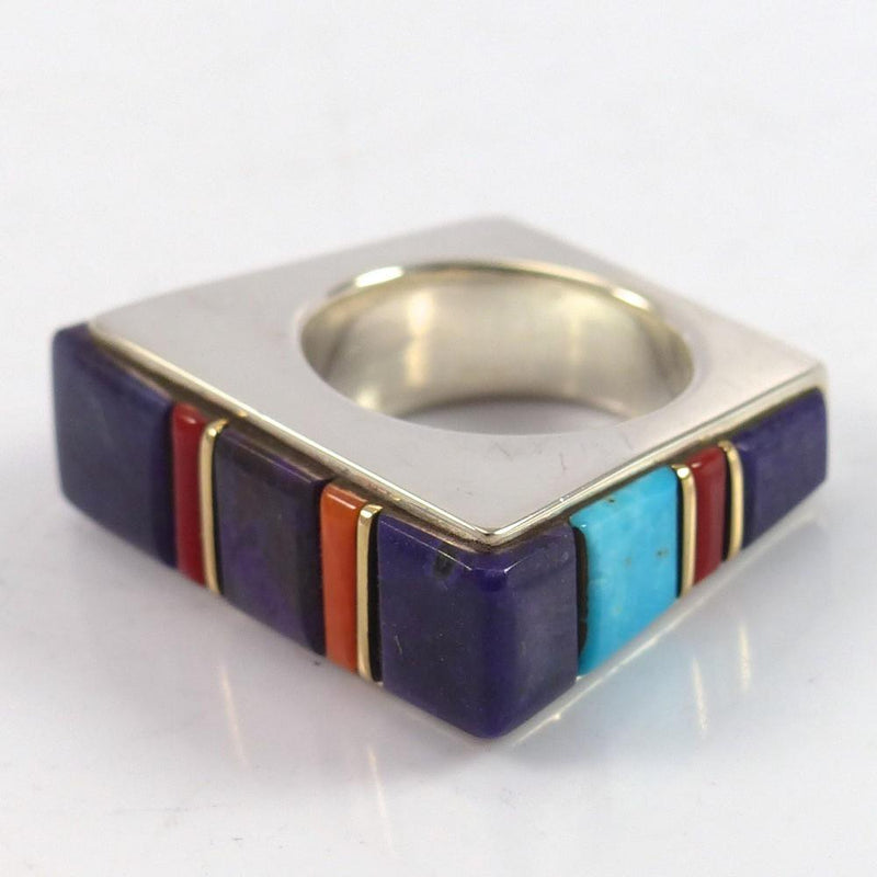 Cobble Inlaid Ring - Jewelry - Wes Willie - 3