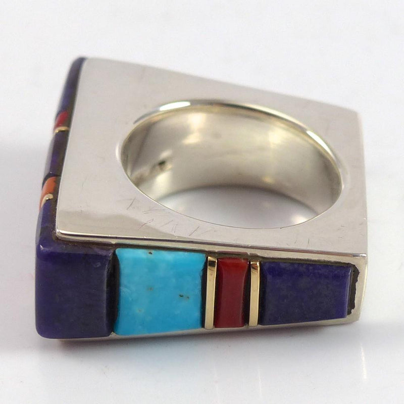 Cobble Inlaid Ring - Jewelry - Wes Willie - 6