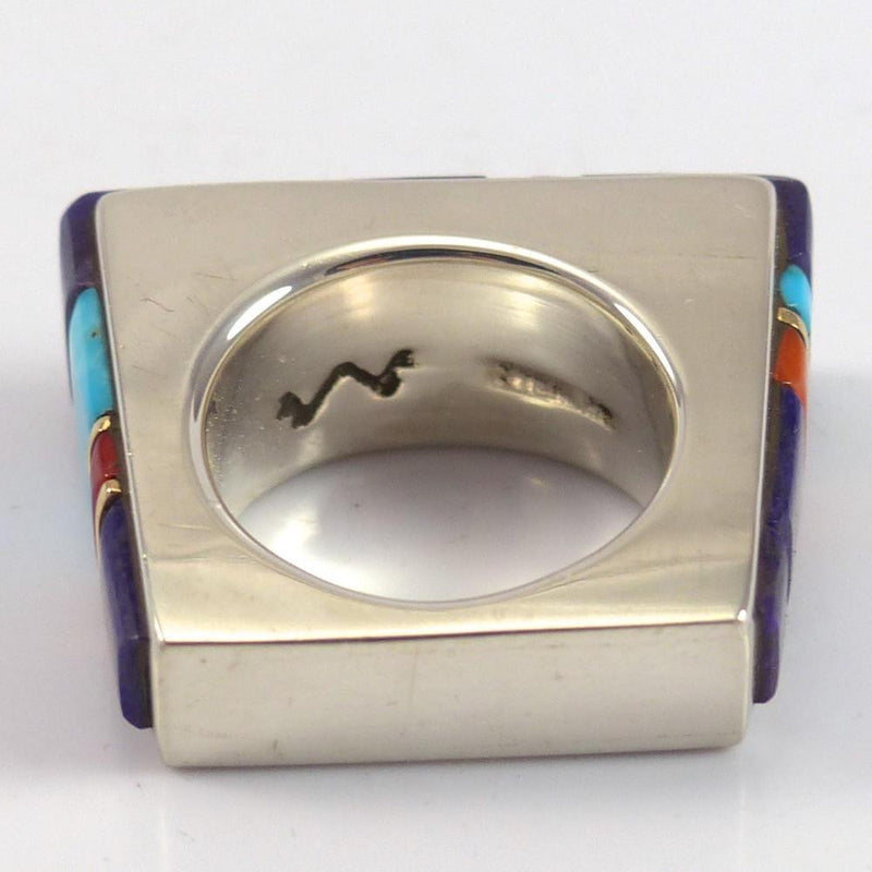 Cobble Inlaid Ring - Jewelry - Wes Willie - 7