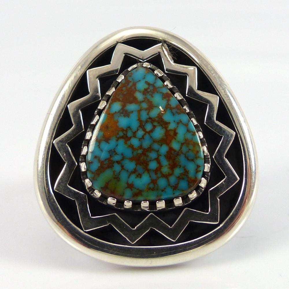 Kingman Turquoise Ring - Jewelry - Allison Lee - 1